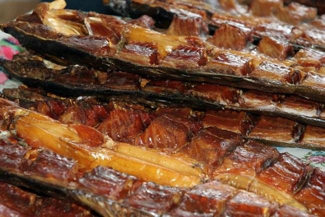 Рыбацкий деликатес- балык из щуки