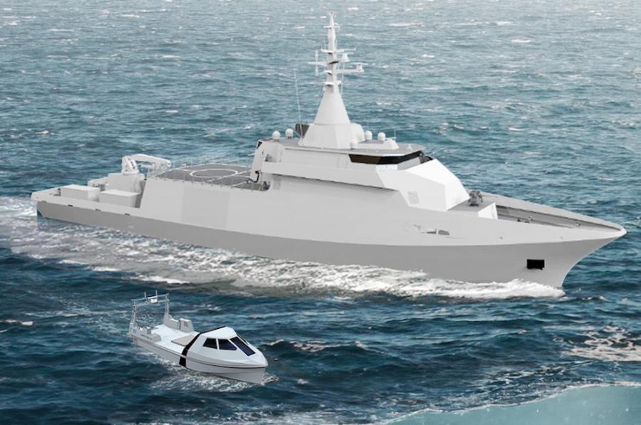 Французская Naval Group построит новые тральщики для Бельгии и Нидерландов