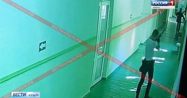 Взрыв и нападение в Керченском колледже