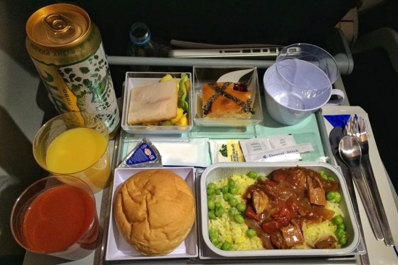 2-е место Эйр Астана (Air Astana) 2017, авиакомпания, еда, питание, путешествия, рейтинг, самолет, снг