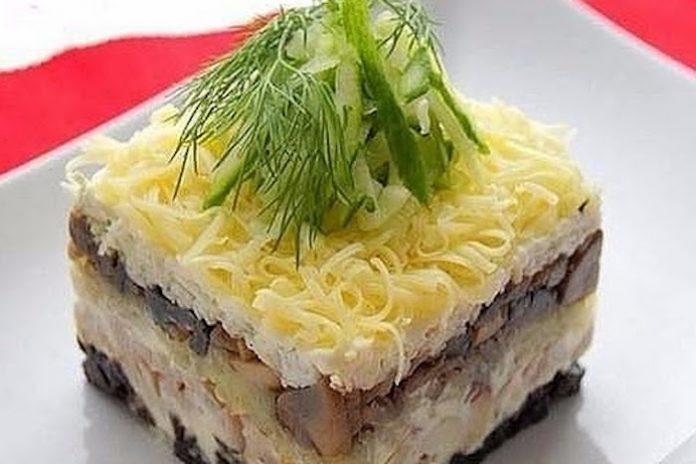 Вкусный салат «Меркурий»: диетически не значит не вкусно