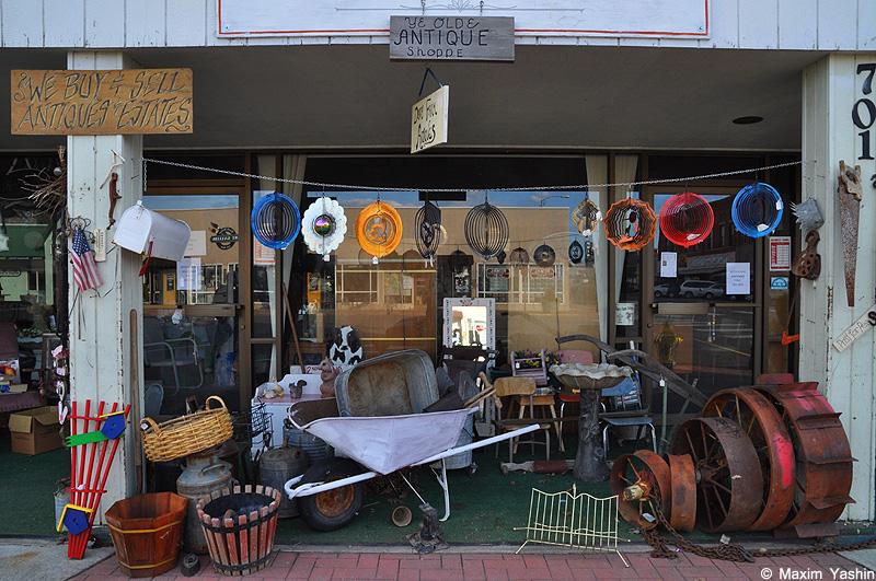 Antiques shops 28 Антикварные магазины в США