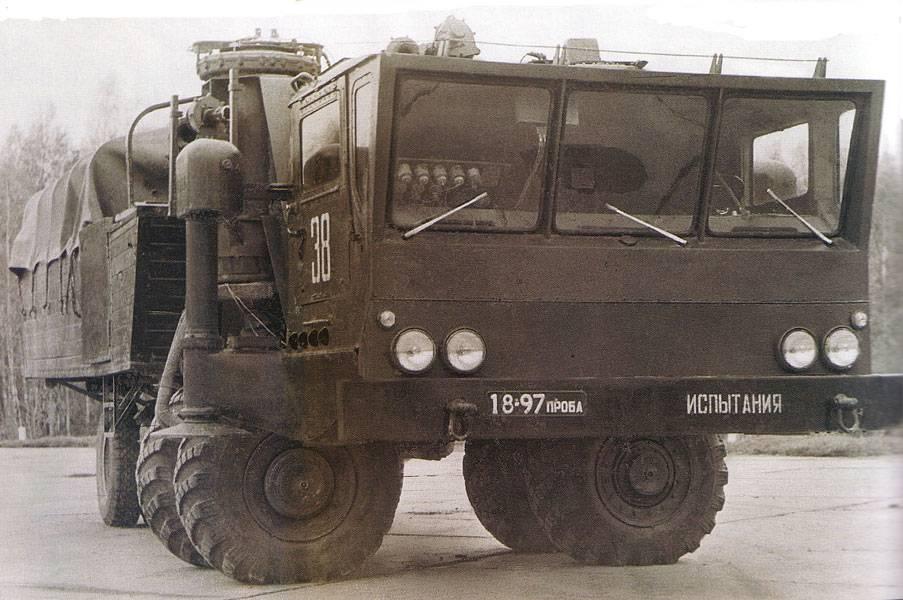 Ракетный ЗиЛ-135Ш: подобного мир не видел!