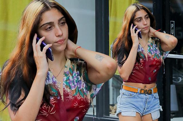 Уличный стиль знаменитости: дочь Мадонны Лурдес Леон выбирает винтажный лук