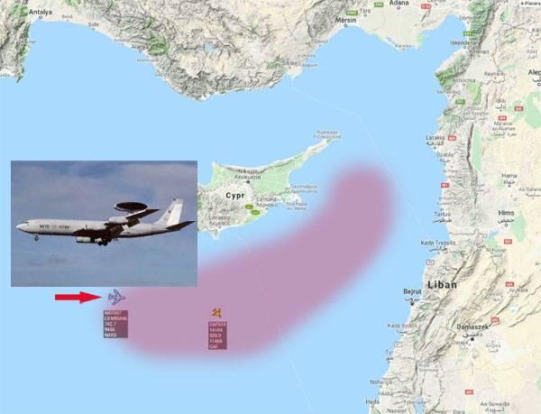 """Натовский E-3A AWACS """"познак…"""
