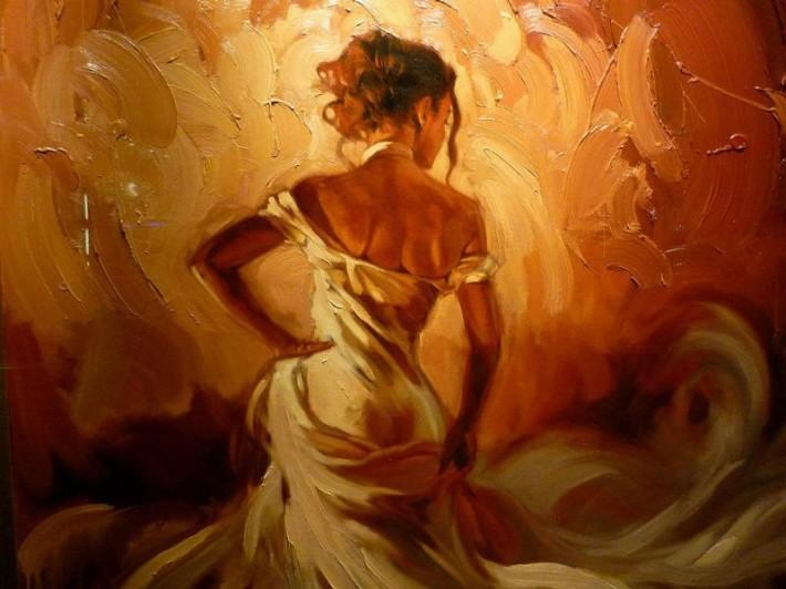 Красота женщины в рисунках Mark Spain