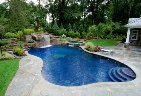 Время искупаться!  идеи для собственного бассейна во дворе на улице.