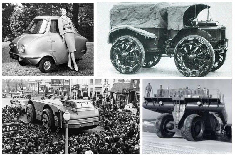 Невероятные авто-агрегаты из прошлого