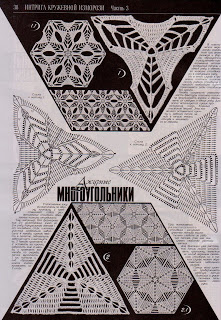 Узоры крючком из Журнала Дуплет №154