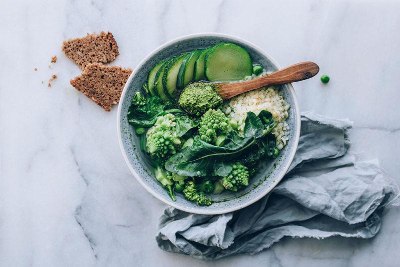 Изображение рецепта Зелёный минестроне