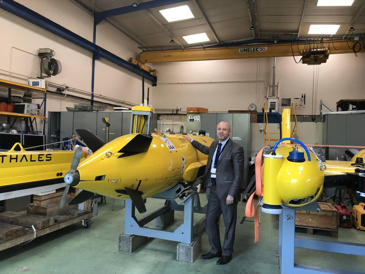 Новые французские необитаемые подводные аппараты - тральщики мин