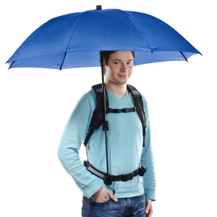 Hands-Free Umbrella - рюкзак-зонт, который освободит руки.