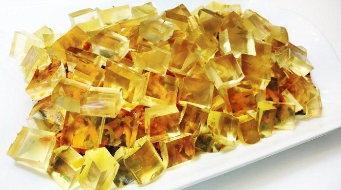 Обалденный праздничный салат «Ледоход»