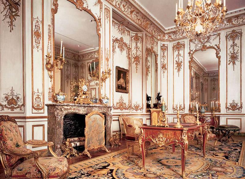 Исторические стили интерьера. Рококо