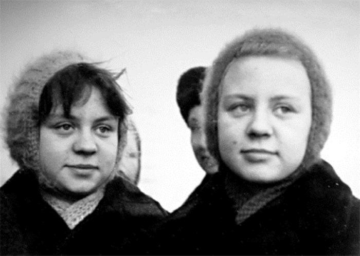 Сестры Ольга и Татьяна Юкины