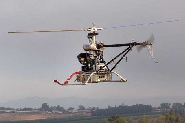 Новые беспилотные средства снабжения производства IAI – вертолет «Ясурон Ярок» и автоколонны