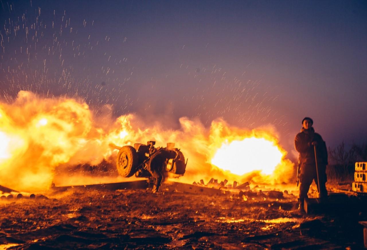 ВСУнанесли артиллерийский удар поЛНР
