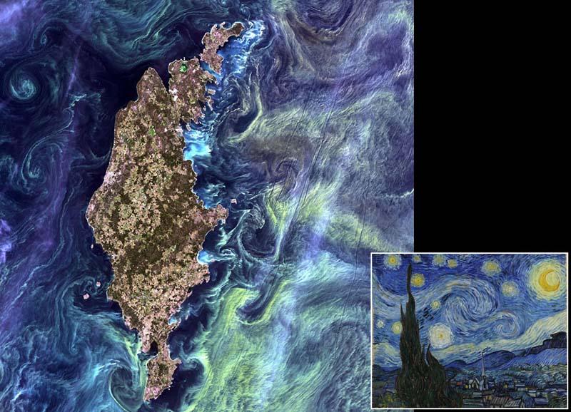 Landsatprogramme 0 Фото со спутника   Земля как произведение искусства