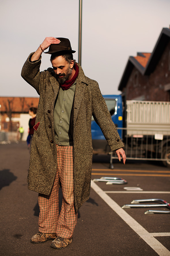 On the Street…At Gucci, Milan