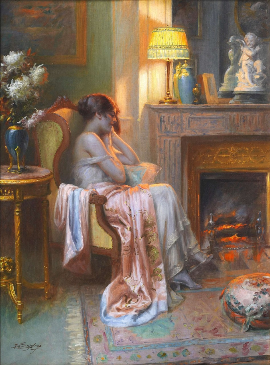 ДЕЛЬФИН АНЖОЛЬРА (DELPHIN ENJOLRAS; 1857-1945)   ЧАСТЬ 3