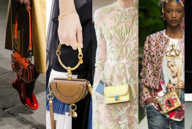 Всё о модных микросумках и о том, как их носить