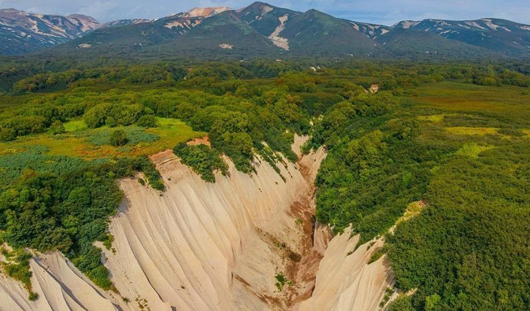 Кутхины Баты: неземная красота Камчатки