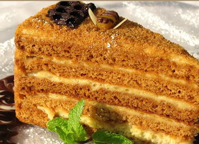 Рецепты тортов с фотографиями медовик