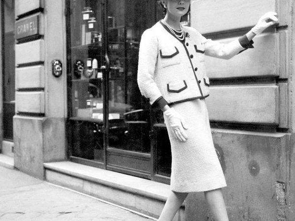 Твидовый костюм: простота и роскошь