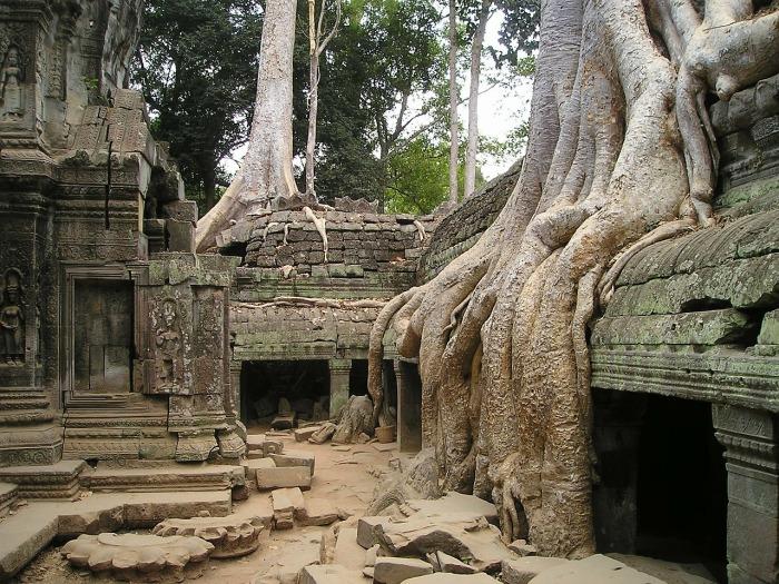 Ангкор – заброшенный древний мегаполис в джунглях