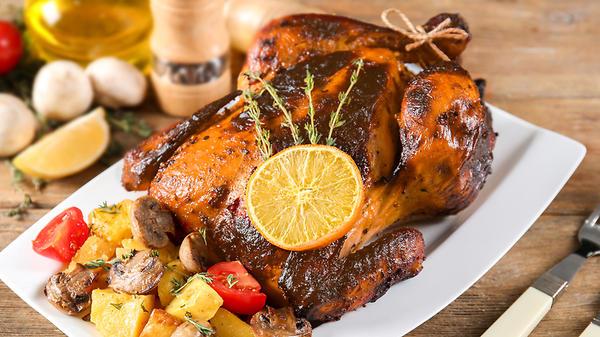 Французский цыпленок с тарху…