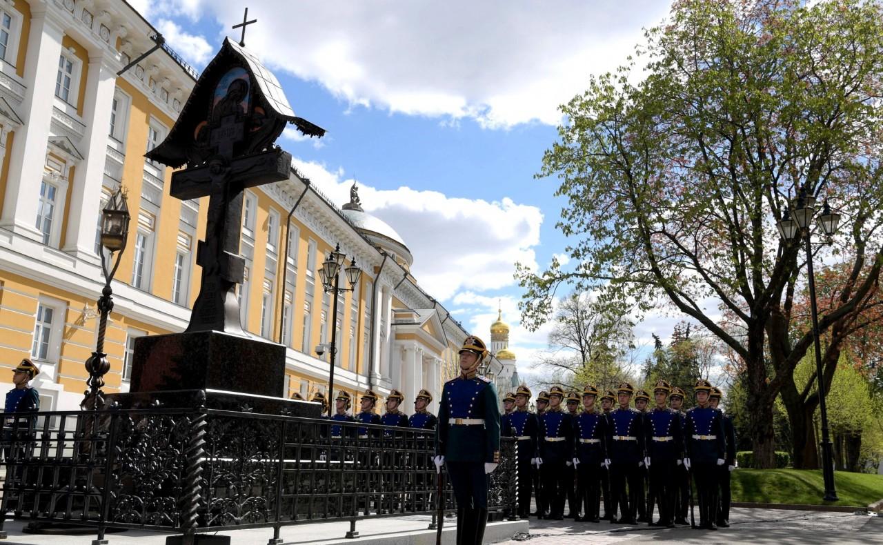 Москва. Поклонный крест великому князю Сергею Александровичу
