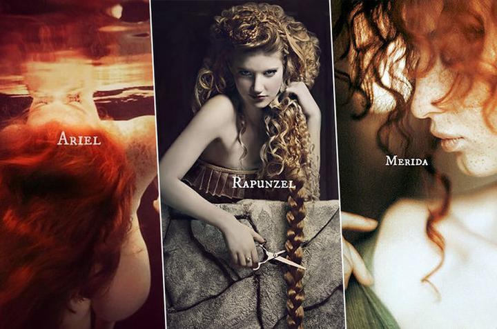 Если бы принцесс Диснея снимали модные фотографы