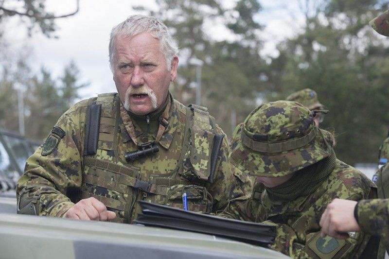 Глава спецназа Эстонии пообещал вырезать всех