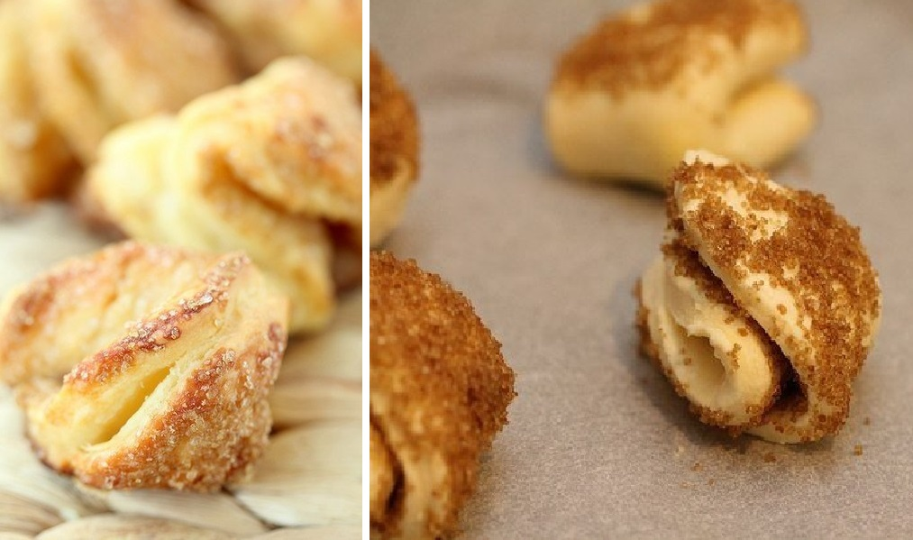 Простое, но очень вкусное и красивое творожное печенье