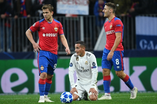ЦСКА побил «Реал» в Москве, но потерял Акинфеева