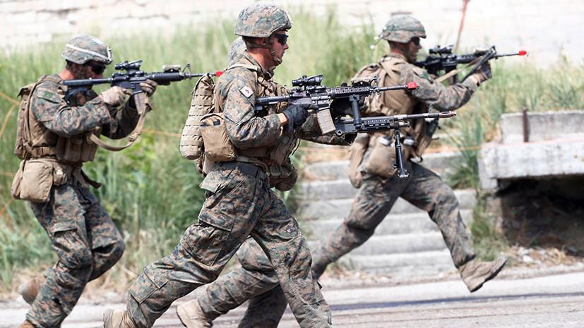«Главная военная угроза для …