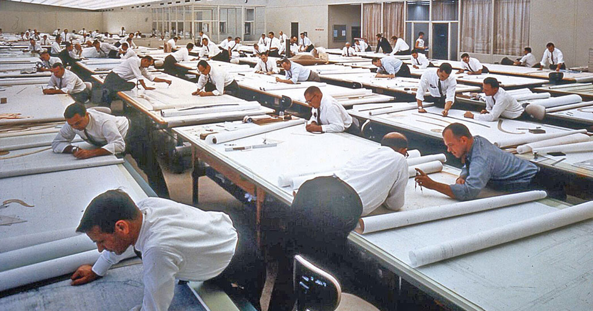 19 Fascinating Vintage Photos Reveal What Life Before AutoCAD Looked Like
