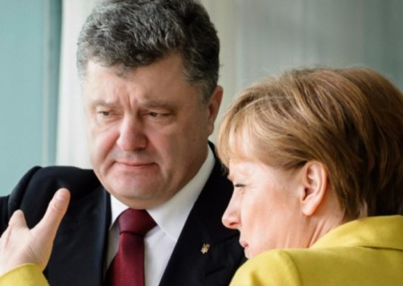 Bild: Правительство Германии перешло к угрозам в адрес Порошенко