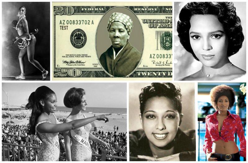 Негритянки стали известными …