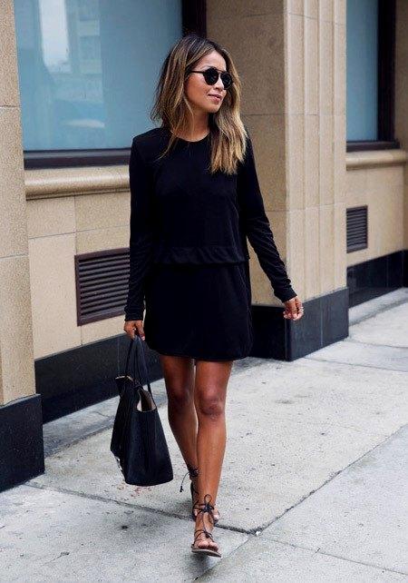 Черный как символ высокого стиля: 15 эффектных платье для будущего лета