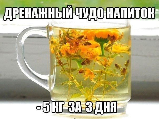 Чудо-напитки помогут Вам в борьбе с лишними килограммами, отеками и целлюлитом
