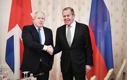 Джонсон признался в русофилии по итогам переговоров с Лавровым