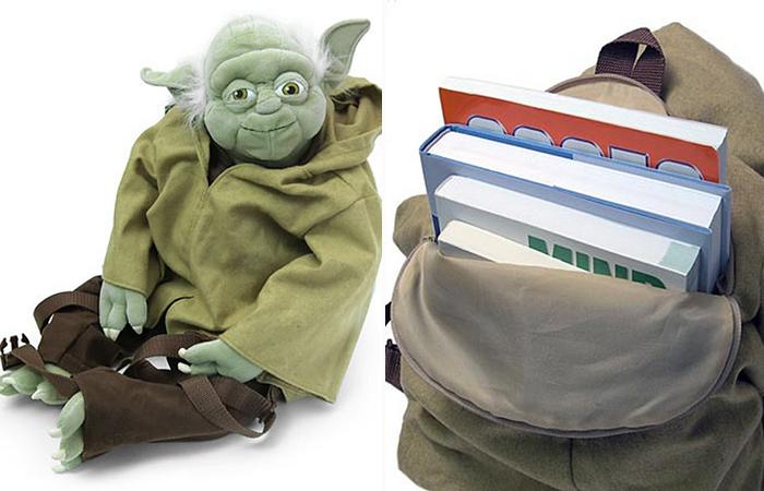 Рюкзак с персонажем из «Звездных воин».