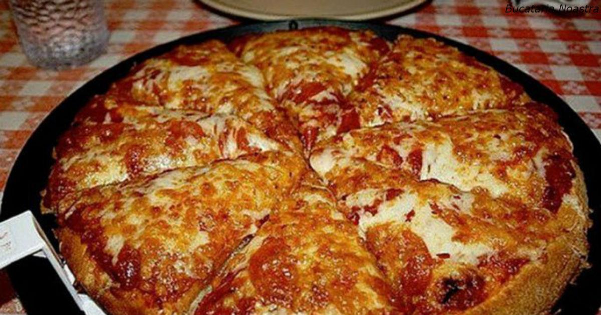 ″Пицца-блин″: вы можете приготовить ее за 10 минут. Все гениальное - просто!