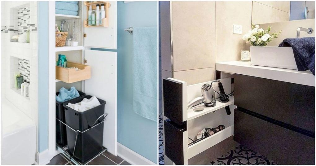 Простые идеи организации маленькой ванной для комфорта и уюта