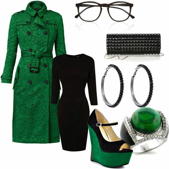 Оттенки зелени: 8 примеров, как приручить зеленый для особого случая
