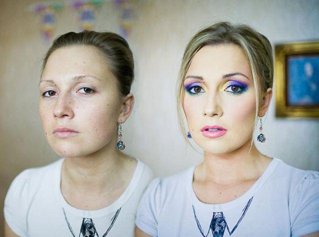 Красивый фотошоп с макияжем