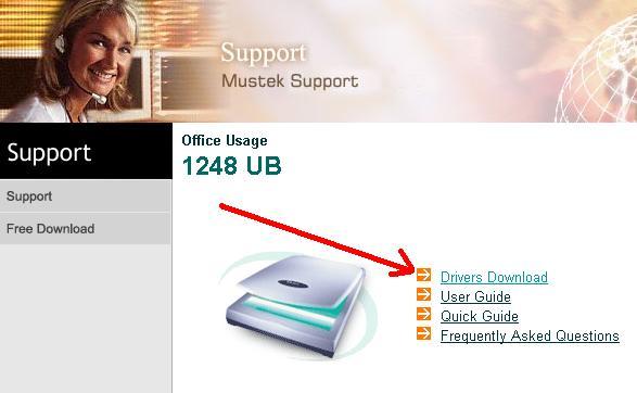 Инструкция Mustek 1248Ub