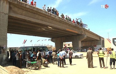 В Сирии возобновилось движение по трассе Хомс - Хама