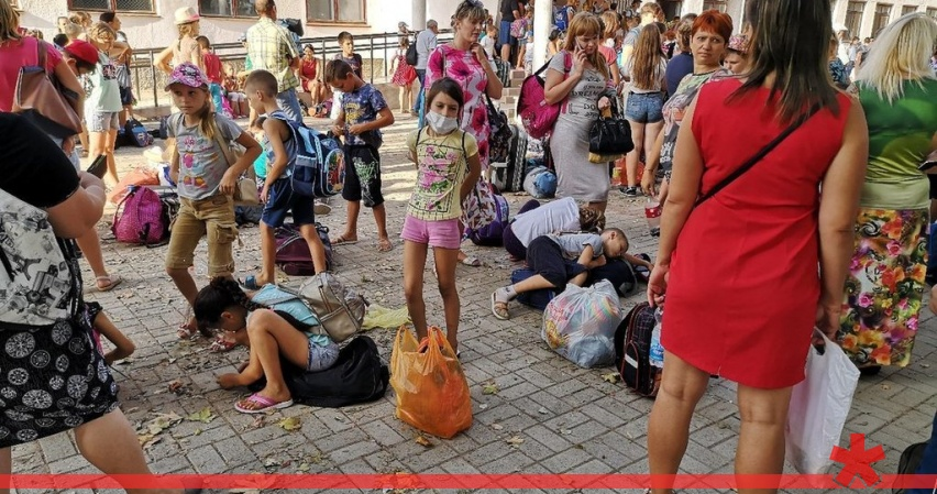 Детей возвращают в Армянск